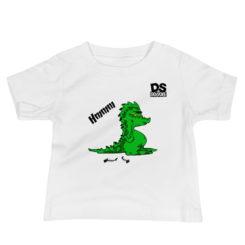 Hungry Crocodile, Crocodile, DS Doodle, Baby Jersey Short Sleeve Tee
