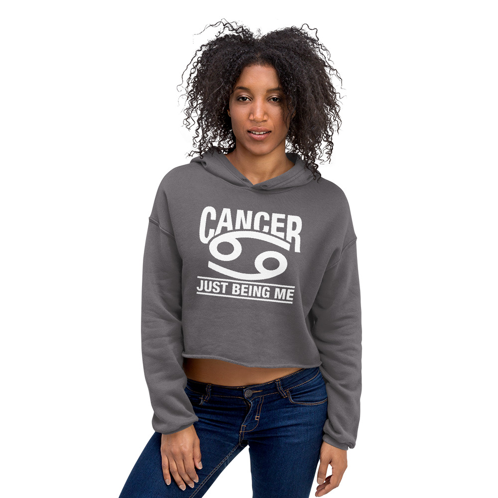 Cancer Cropped Hoodie