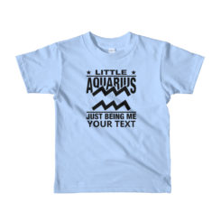 Aquarius Zodiac Sign,Kids Lightweight T-Shirt. Personalize it.