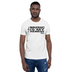 Music Is My Remedy Men T-Shirt