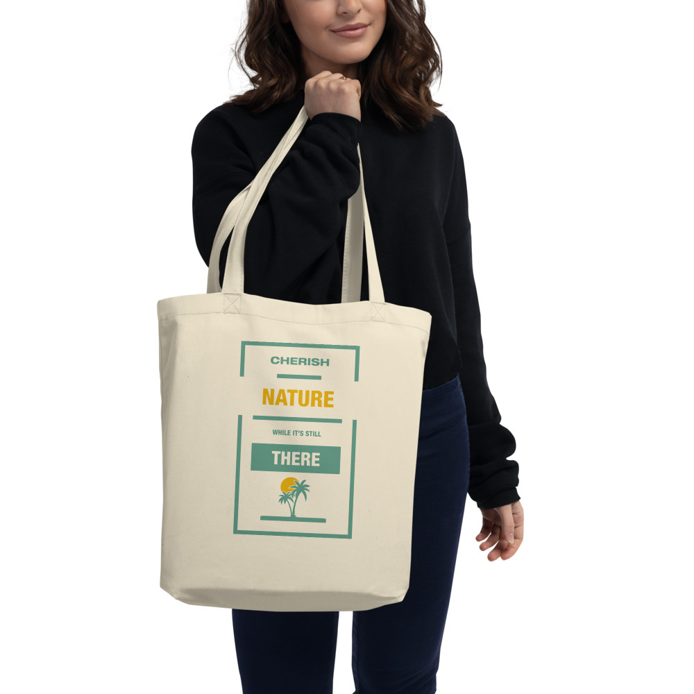 Cherish Nature Eco Tote Bag.