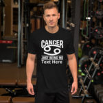 Cancer Zodiac Sign T-Shirt. Personalize it.