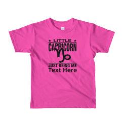 Capricorn Zodiac Sign, Kids Lightweight T-Shirt. Personalize it..