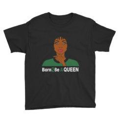 Born 2 Be A Queen Lightweight T-Shirt