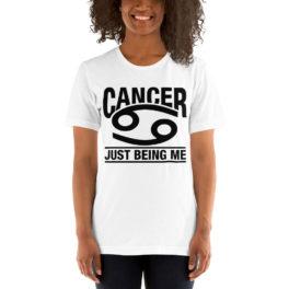 Unisex T-Shirt Cancer Zodiac Sign