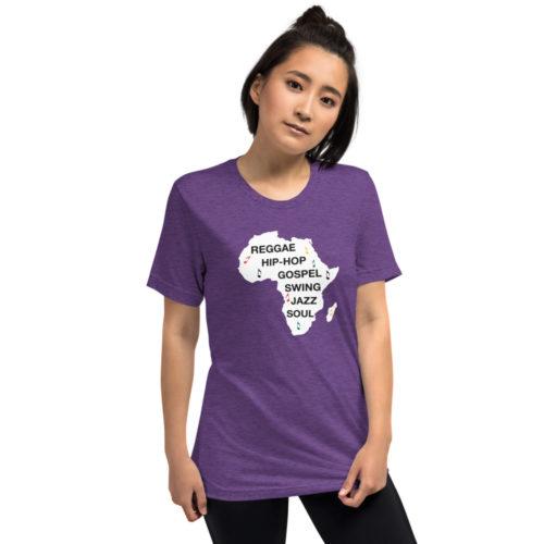 Africa is music, t-shirt women