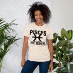 Unisex T-Shirt Pisces Zodiac Sign