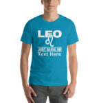 Leo Zodiac Sign, Unisex Premium T-Shirt. Personalize it.