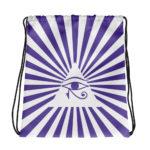 Eye Of Horus Drawstring Bag