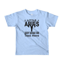 Aries Zodiac Sign, Kids Lightweight T-Shirt. Personalize it.