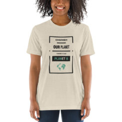 Cherish our Planet, There Is No Planet B Unisex T-Shirt