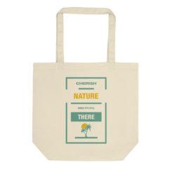 Cherish Nature Eco Tote Bag